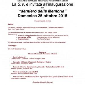 invito 25 ottobre 2015