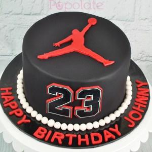 Michael Jordan jumpman cake
