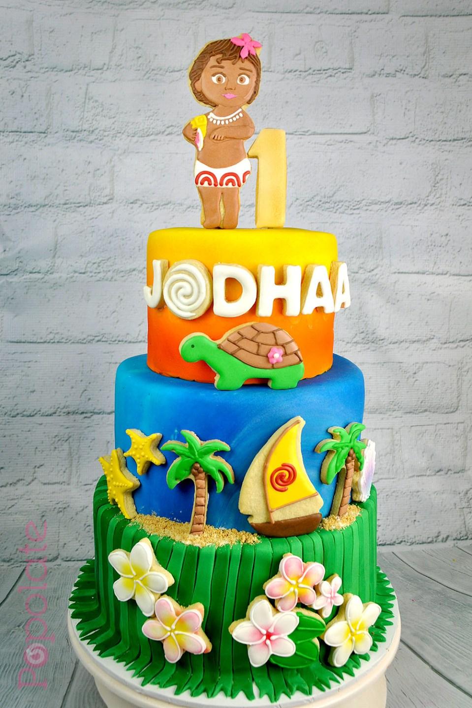Moana Cookie cake