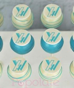 Xaxis cake pops corporate company logo