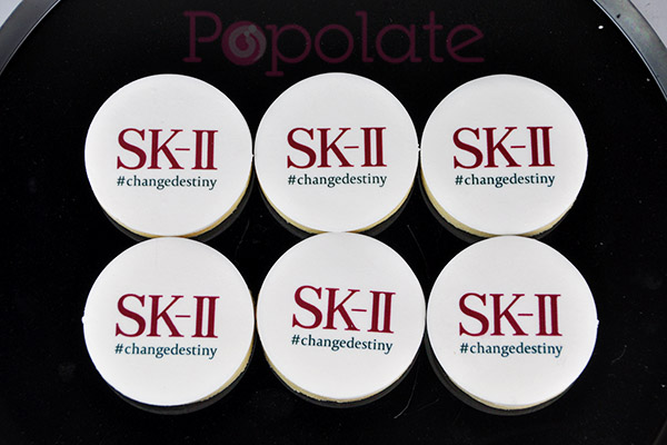 SK-II logo cookies launch brand corporate