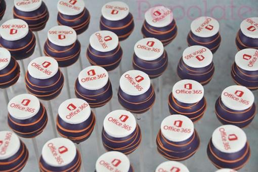 MS Office 365 cake pop