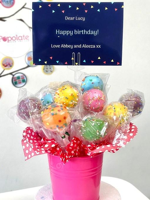 Cake pop set gift