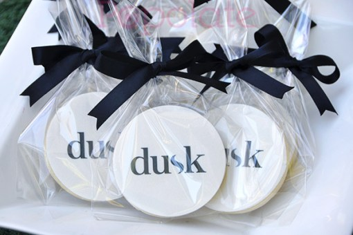 Dusk logo cookies