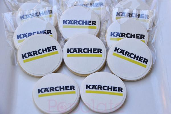 Karcher logo cookies