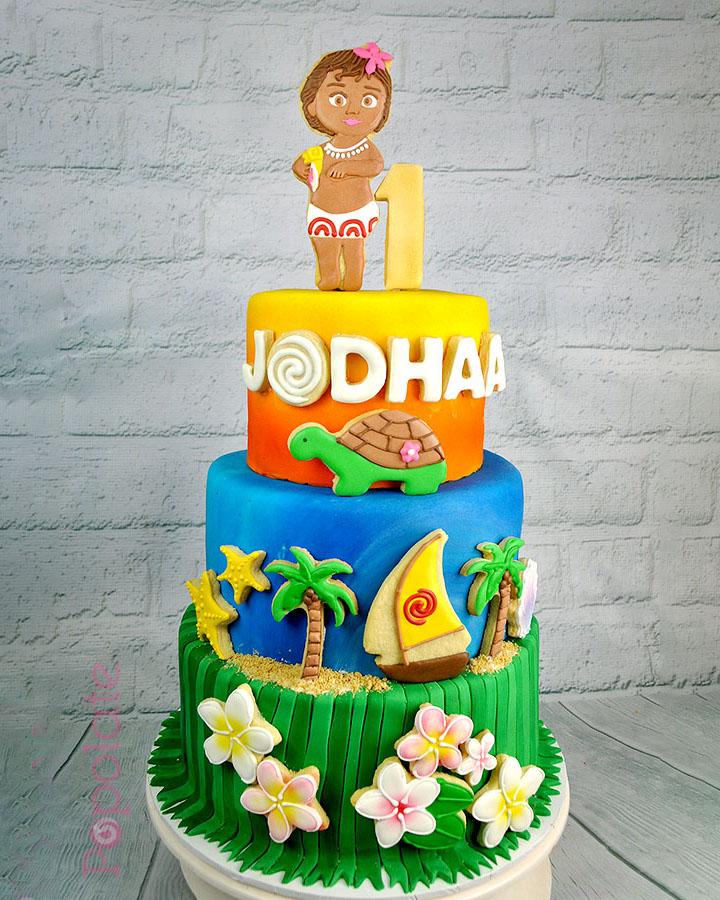 Moana birthday cake Hornsby