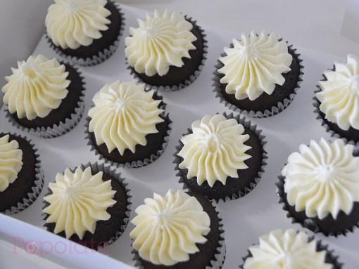 Small buttercream cupcake