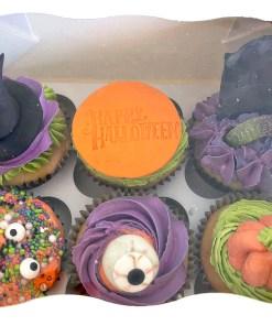 Halloween 2021 cupcakes
