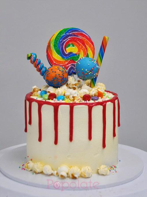 Lollipop cake 6 inch