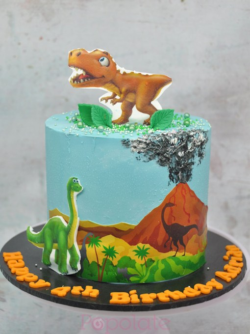 Dino cake 6 inch