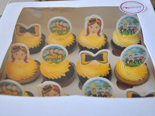 Emma Wiggle cupcakes
