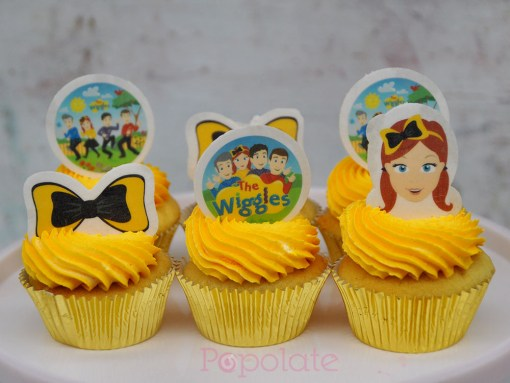 Emma and the Wiggles cupcakes