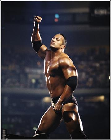 The Rock's Training