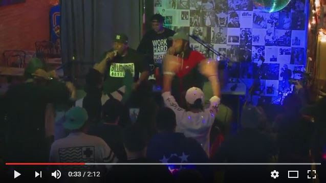 "Bruse Wane & Chris Rivers perform ""Venom"" Live"