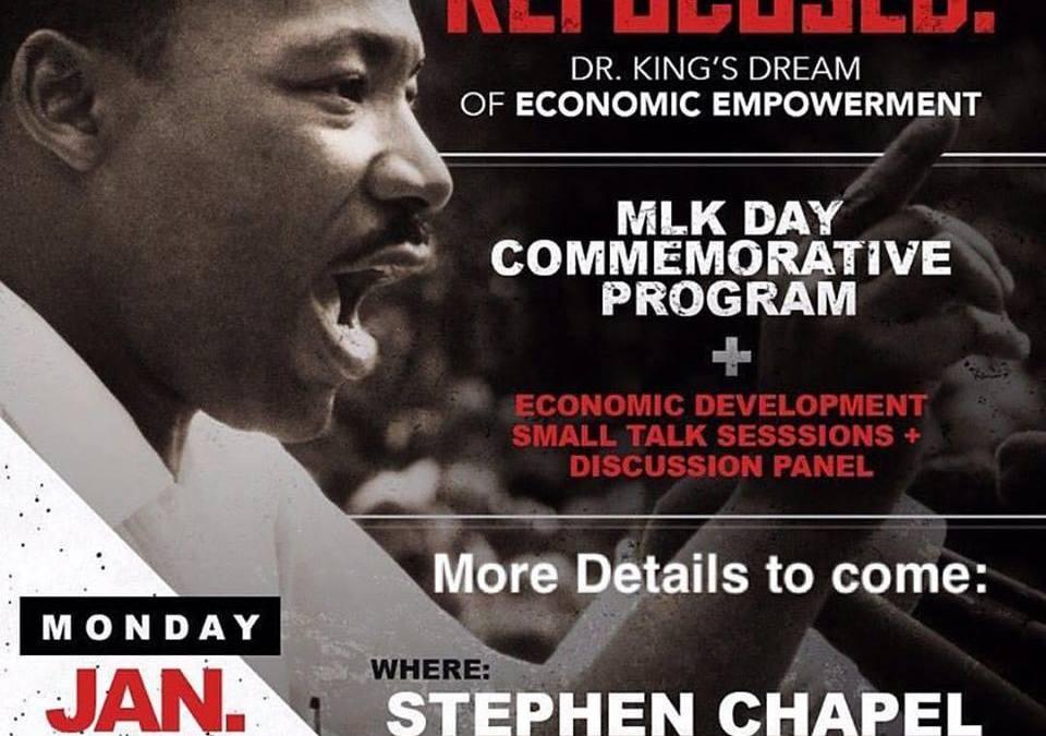 MLK Refocused – Dr. King's Dream of Economic Empowerment