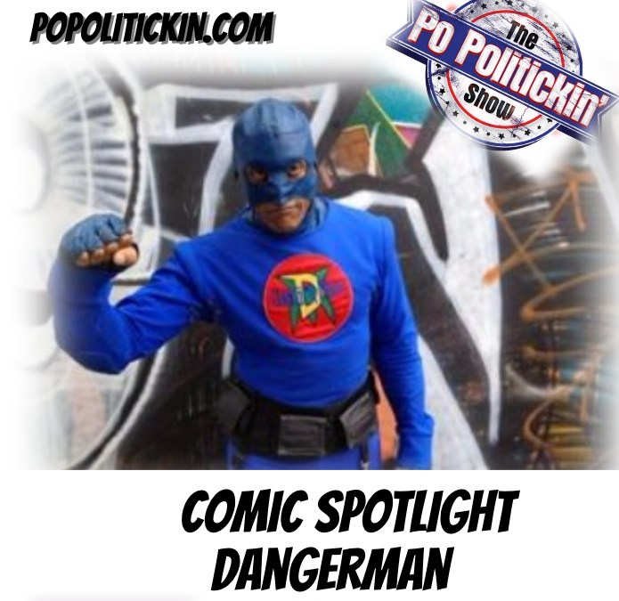 [Podcast]  Comic Spotlight – DangerMan | @DangerMan_Urban