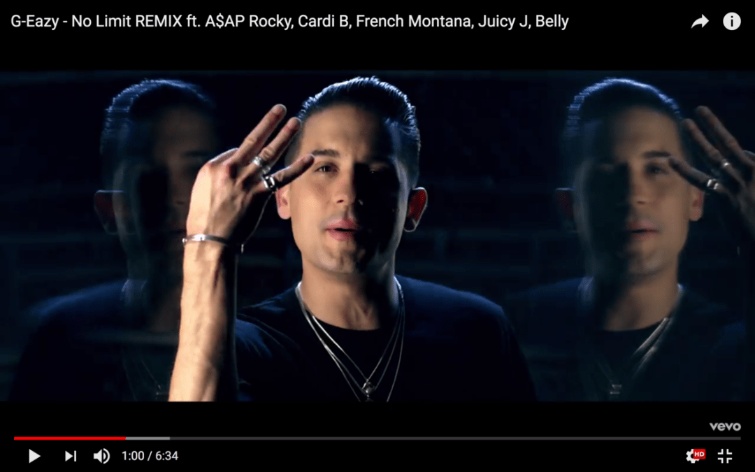 "[Video] G-Eazy feat. A$AP Rocky, Cardi B, French Montana, Juicy J & Belly ""No Limit"" (Remix)"