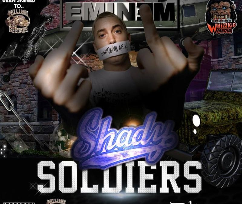 [Mixtape] Eminem – Shady Soldiers (What If Eminem Had Been Signed To No Limit Records) | @dawhizzkid