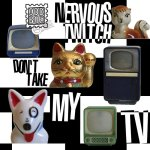 Nervous Twitch Don't Take My TV