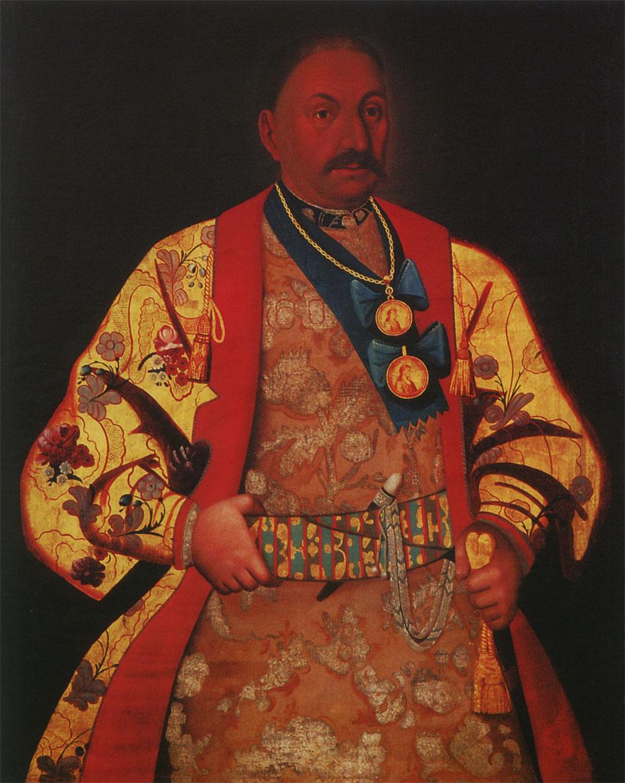 Портрет Войскового атамана Д. Е. Ефремова