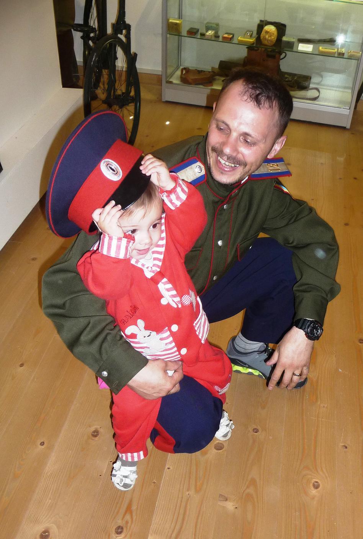 Казачонок с отцом