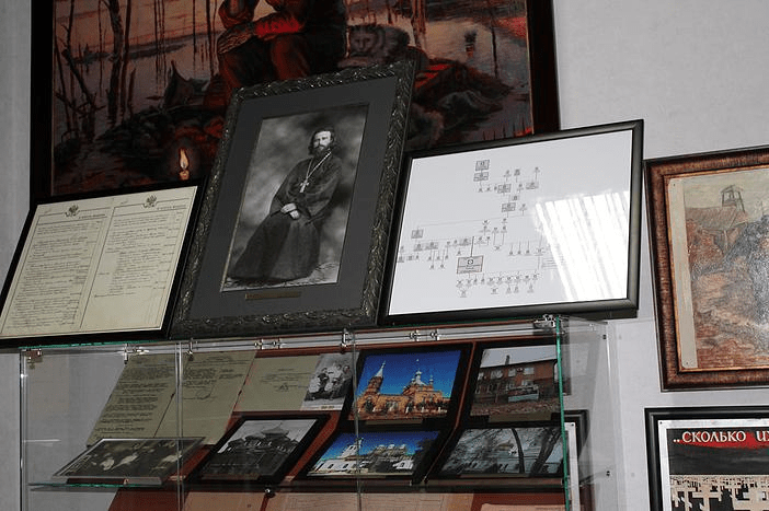 Музейная экспозиция в станице Еланской