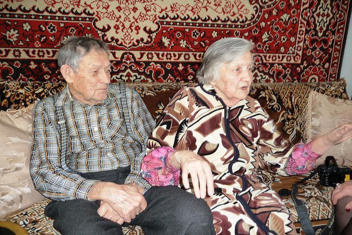 Виктория Николаевна Ломакина с мужем