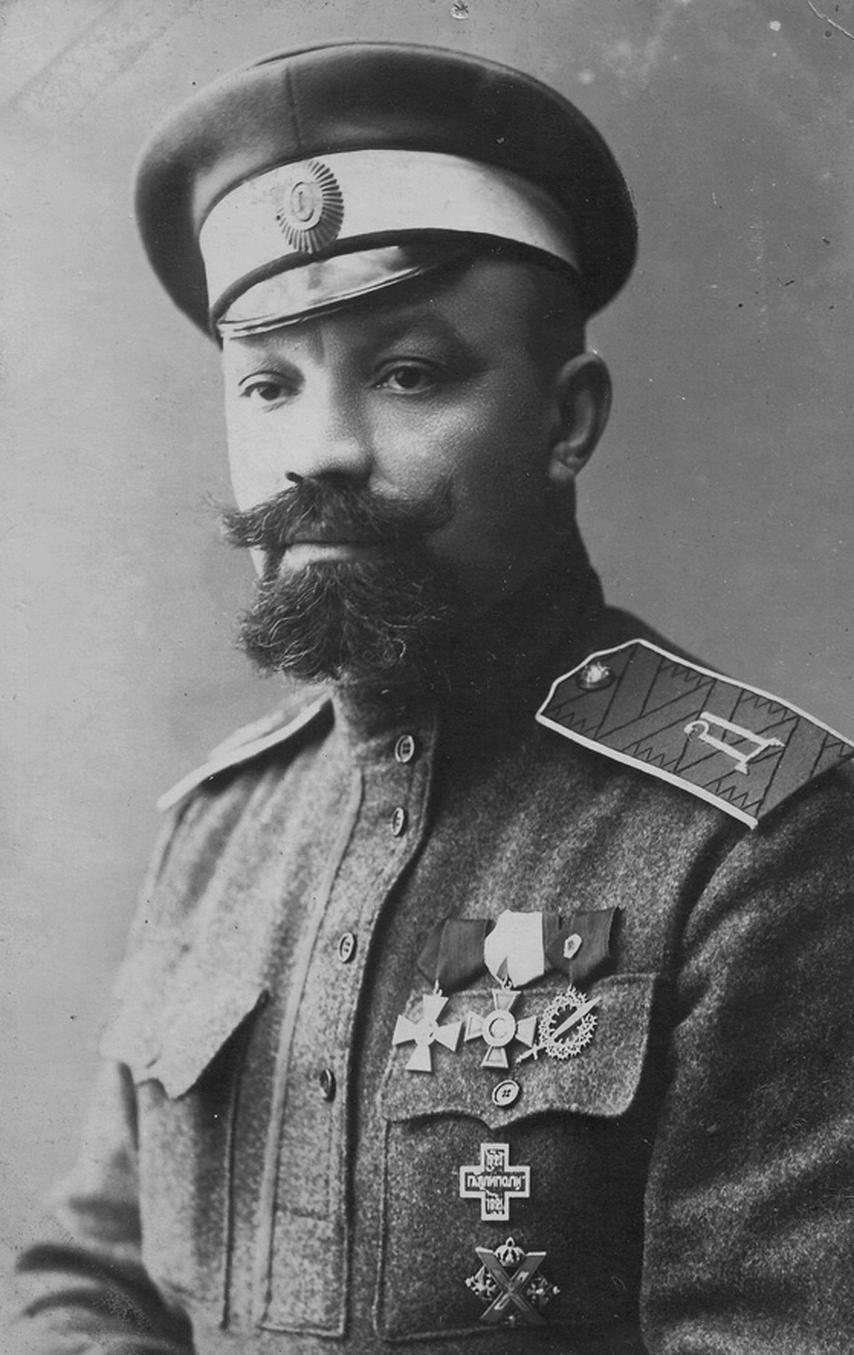 Генерал А. П. Кутепов