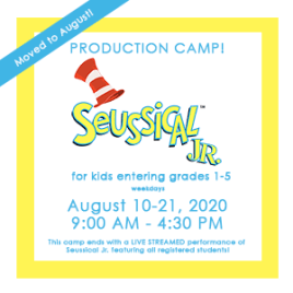 Seussical Jr Production Camp