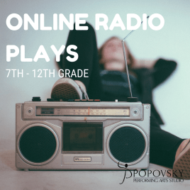 Online Radio Play for 7th – 12th Grade