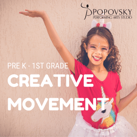 Creative Movement – Dance for Pre-K through 1st Grade