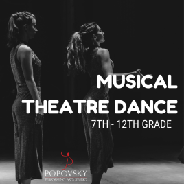 Musical Theatre Dance for 7th-12th Grade