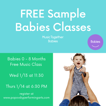 Music Together Babies FREE Sample Class