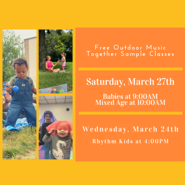 FREE Music Together Outdoor Sample Class