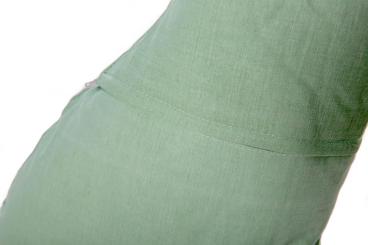 Kussen haas groen  Poppedesigns