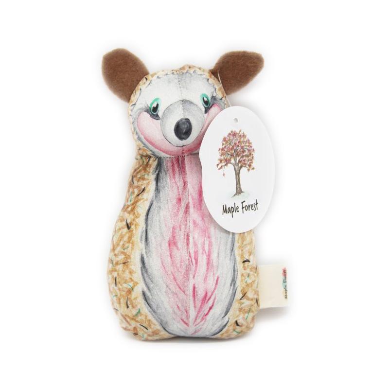 Rammelaar egel  Maple Forest toys  Poppedesigns