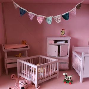 Kinderkamer Sterre, poppenhuisje