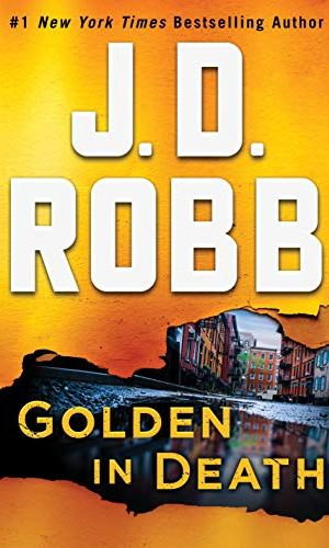 Golden In Death by J.D. Robb - Poppies and Jasmine