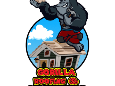 Gorilla Roofing and Construction Logo