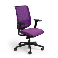 Purple Task Chair Papasan Cushion Diy Reply Furniture Poppin