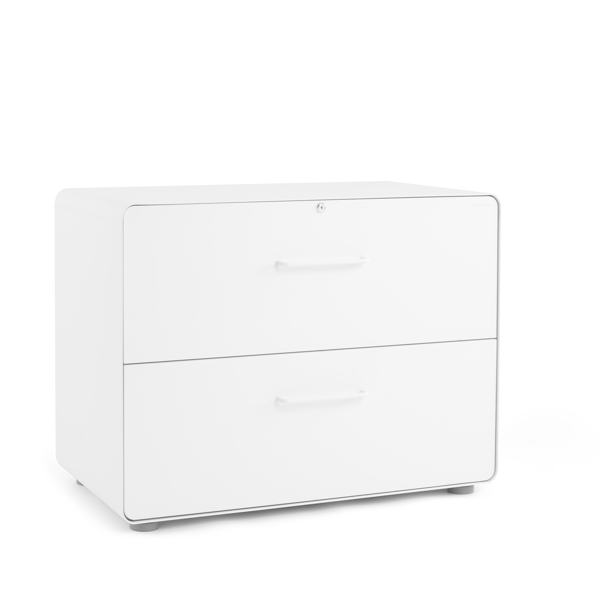 Stow 2 Drawer Lateral File Cabinet File Cabinets Storage Poppin
