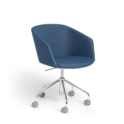 Blue Office Chair The Empty Gospel Song Chairs Computer Desk Home Furniture Poppin Dark Pitch Meeting Hi Res