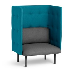 Teal Colored Chairs Small Kitchen Table With Dark Gray Qt Privacy Lounge Chair Modern