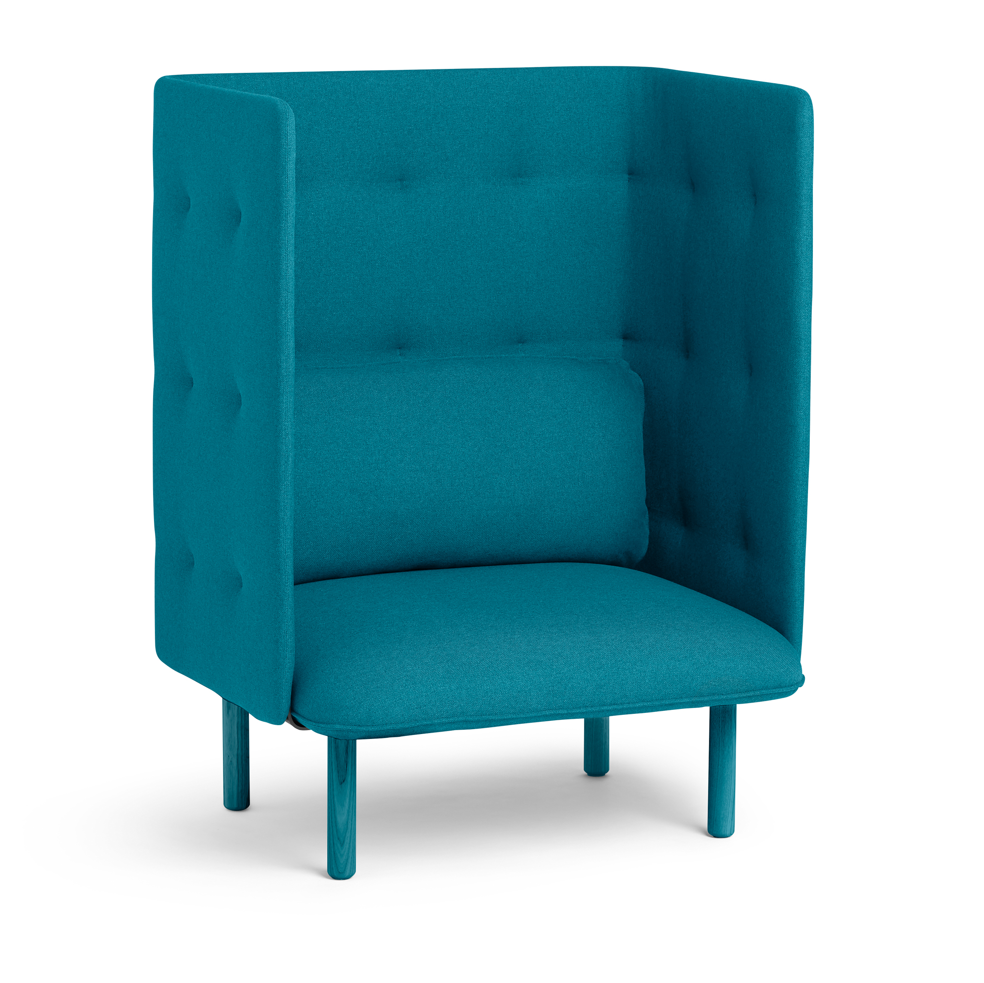 turquoise lounge chair tech furniture teal qt privacy modern seating hi res