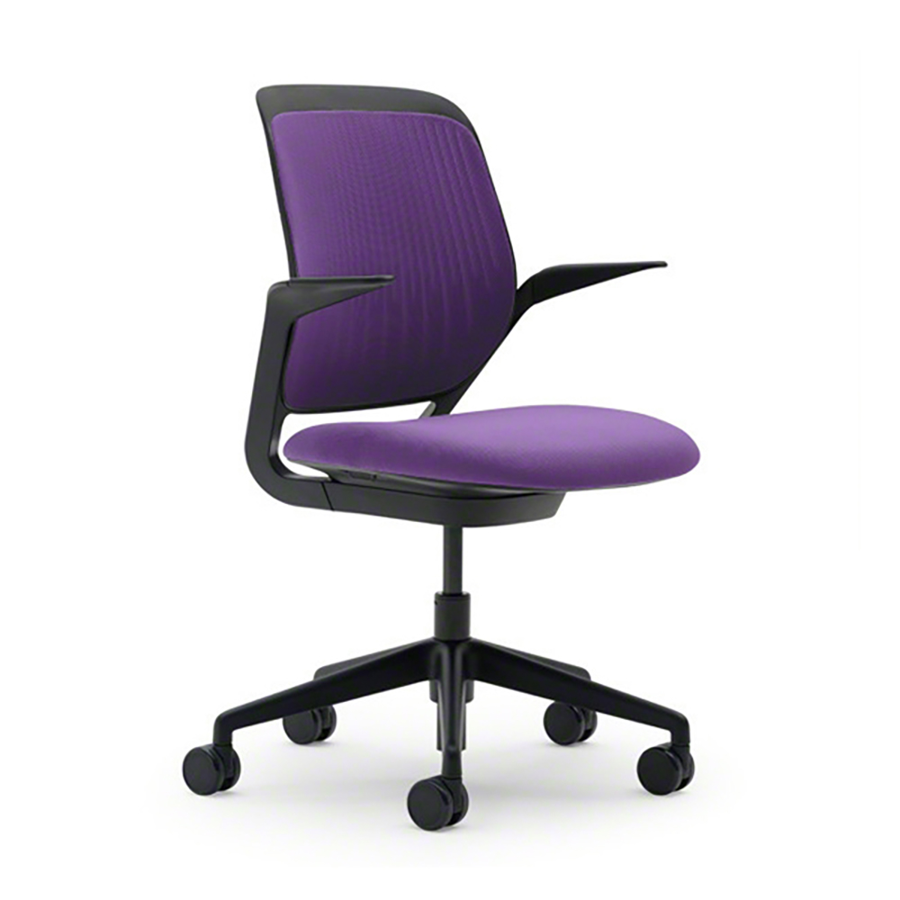 lilac office chair steel in kuwait purple cobi desk with black frame