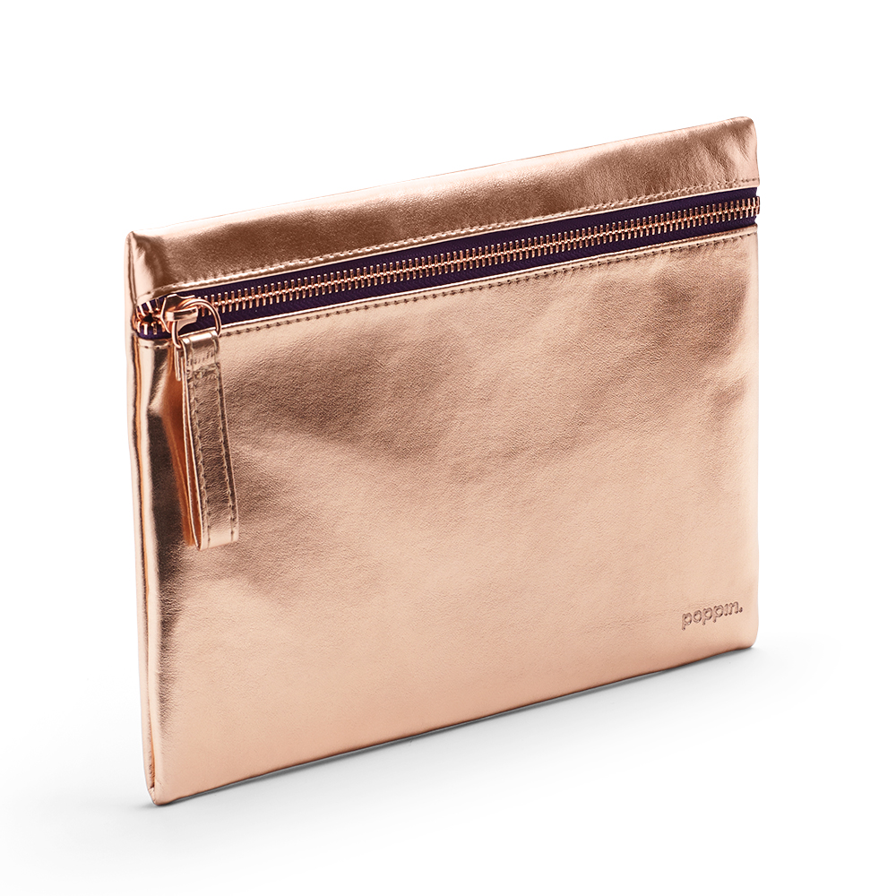 Copper Slim Accessory Pouch Desk Accessories
