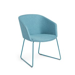 Colorful Desk Chairs Royal Botania Alura Chair Home Office Modern Furniture Poppin Blue Pitch Sled Hi Res