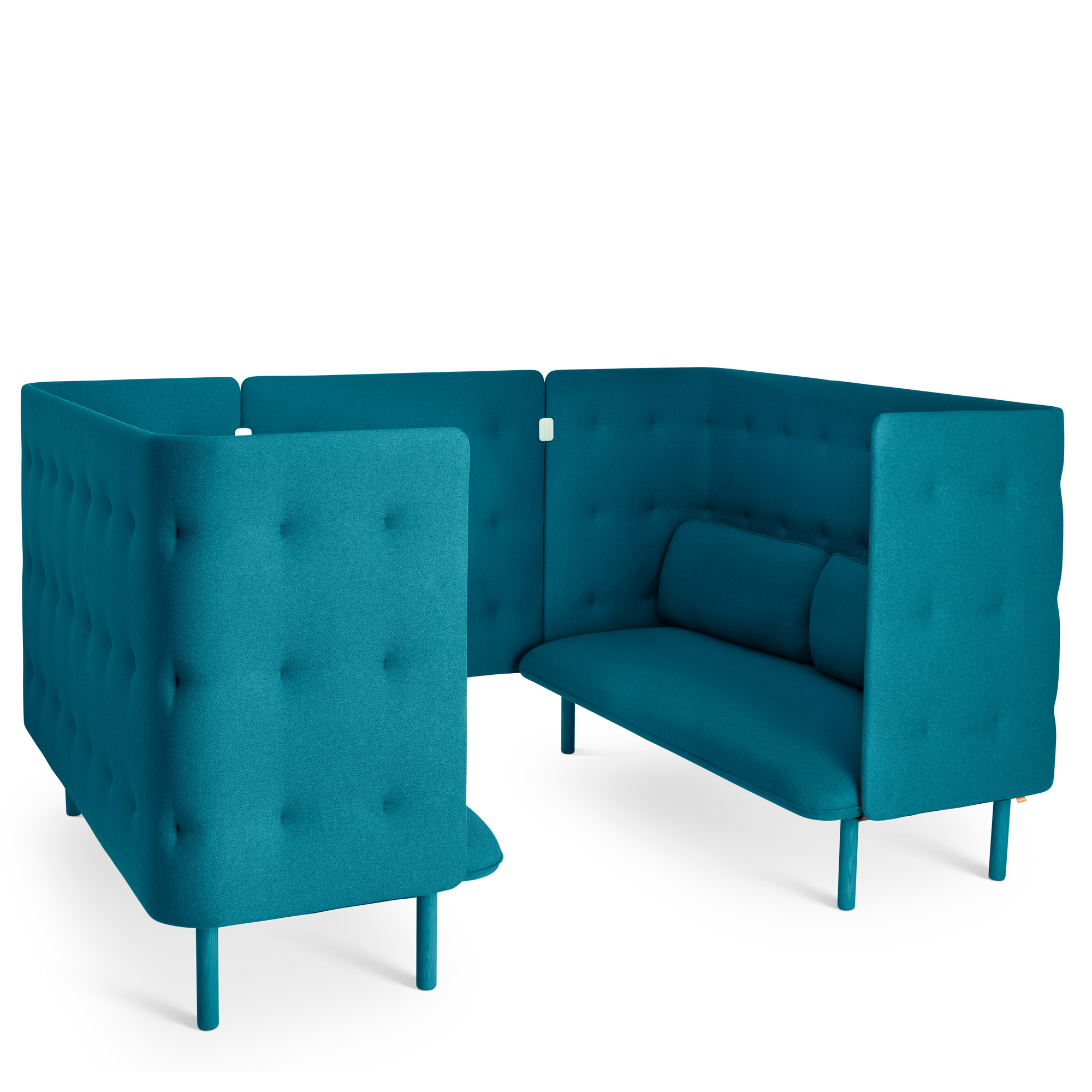 cheap teal sofas sofa surfing madrid colorful sectionals chairs ottomans benches poppin qt booth hi res
