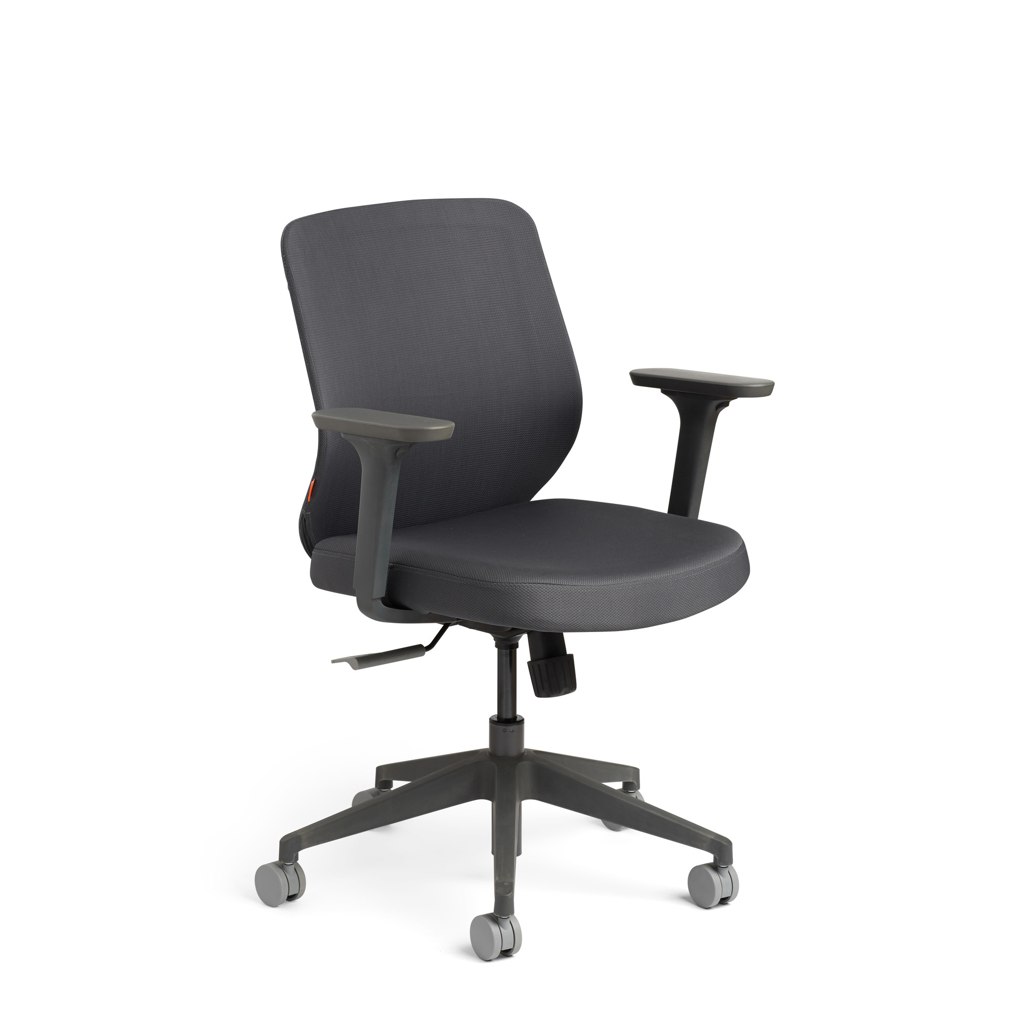 Work Chair Max Task Chair Charcoal Frame Modern Office Furniture Poppin