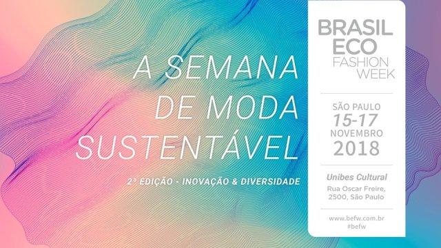 Pop Plus participa do Brasil Eco Fashion Week de 15 a 17 de novembro na Unibes Cultural